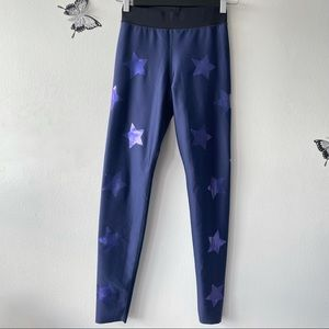 Ultracor The Lux Knockout Leggings in Blue